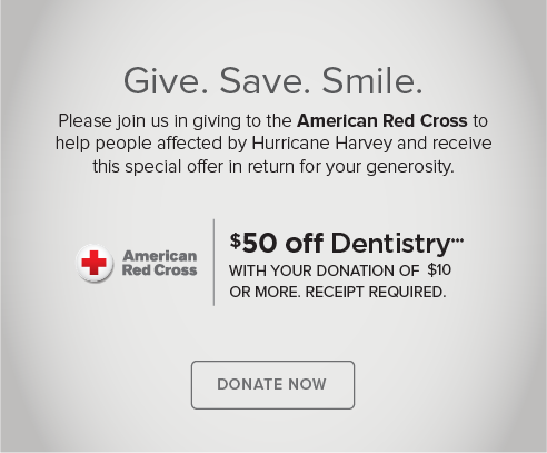 NE Heights Modern Dentistry - Donate Red Cross® Hurricane Harvey